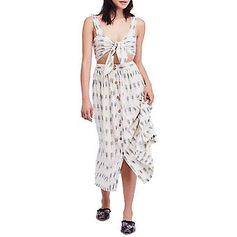 Free People   Caldasi Cotton Printed Midi Dress