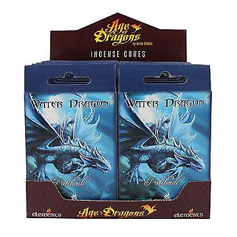 Age Of Dragons Water Dragon Incense Cones (12 Packs Of 15)