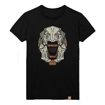 Destiny Skull of Dire Ahamkara Helmet T-Shirt Male Small Black (TS005DES-S)