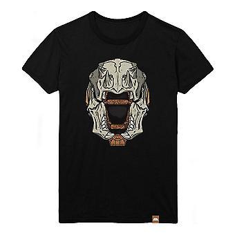 Destiny Skull of Dire Ahamkara Helmet T-Shirt Male Small Black (TS005DES-S)