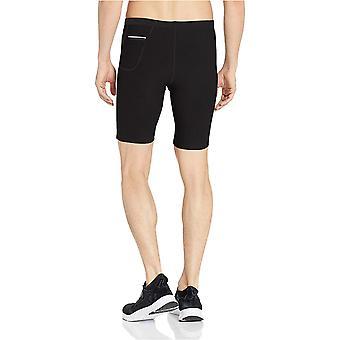 "Essentials Men's Running 9"" Short Active Tight, Schwarz, Medium"
