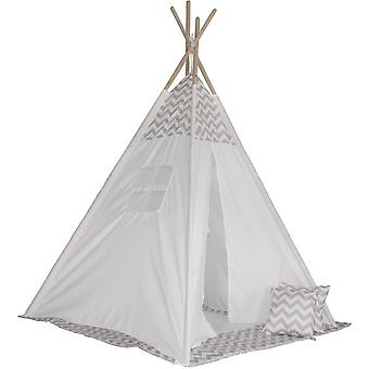 Tipi tent Enero toys, matte and classic pillows