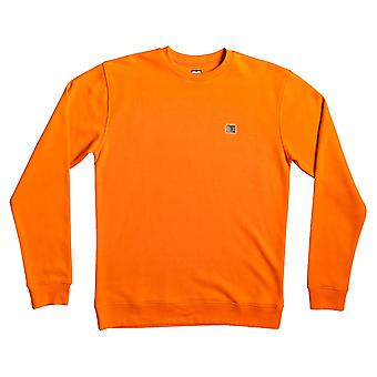 DC Rebel Crew Sweatshirt - Orange Popsicle