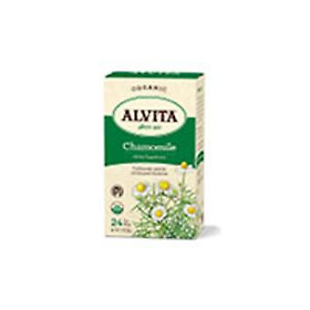 Alvita Teas Organic Herbal Tea, Camomille 24 SACS