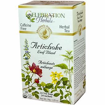 Celebration Herbals Organic Artichoke Blend Tea, 24 Bags