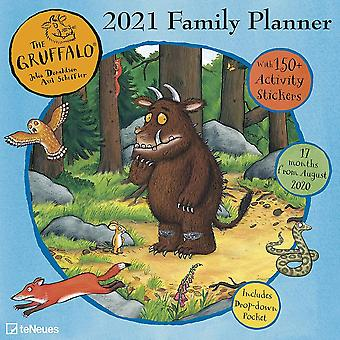 Otter House Gruffalo Wall Planner 2021