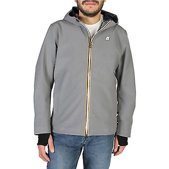 K-way - k008j00 - men's zip fastening jacket