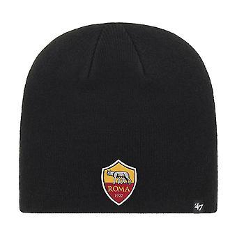 47 Brand Knit Beanie Winter Hat - AS Roma black