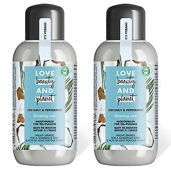 LBP Coconut and Peppermint Blooming Care Mouthwash, 250ml, 2pk