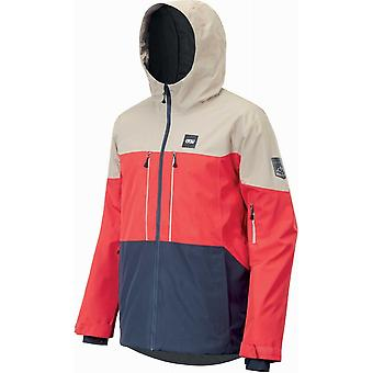 Picture Object Jacket - Red/Blue