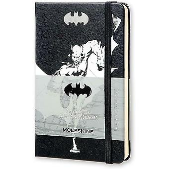 Moleskine Batman Limited Edition Hard Cover Plain Pocket Notebook 14 x 9 x 1.5cm