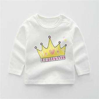 Top a maniche lunghe per neonati - Camicie casual per bambini Vestiti appena nati