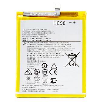 4850mAh Li-Polymer Batterie HE50 pour Motorola Moto E4 Plus / XT1775