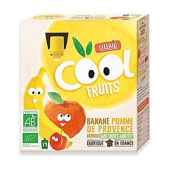 Cool Fruits Omena-Banaanipussi 4 yksikköä 90g