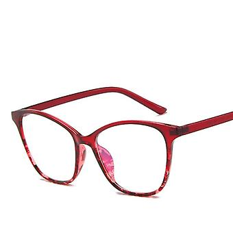Fashion Cat Eye Women Glasses Frame Transparent Clear Lens Spectacle Eyeglasses
