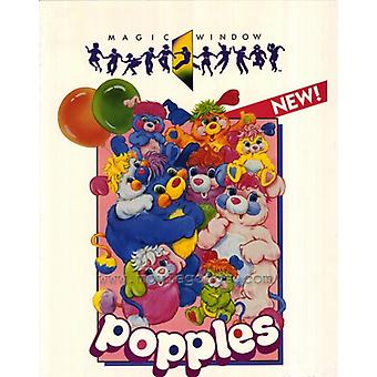 Popples Movie Poster Print (27 x 40)