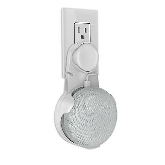 Outlet Wall Mount Holder Cord Bracket - Mini Voice Assistant Plug In Audio