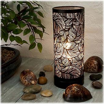 IEP Aroma Lamp White-black Rose Leaf
