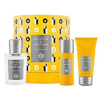 Heren's Parfum Set Pura Acqua Di Parma EDC (3 pc's)