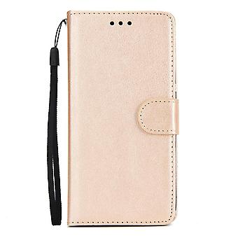 Soft Leather Flip Wallet Case For Huawei