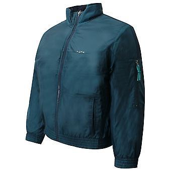 Nike Pojat käännettävä pehmustettu takki junior bomber takki sinivihreä laivasto 461322 452