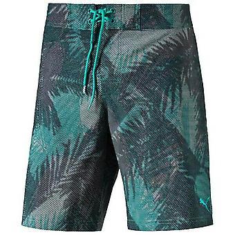 بوما جرافيك بيتش شورت رجال ملابس السباحة الخضراء 513835 22