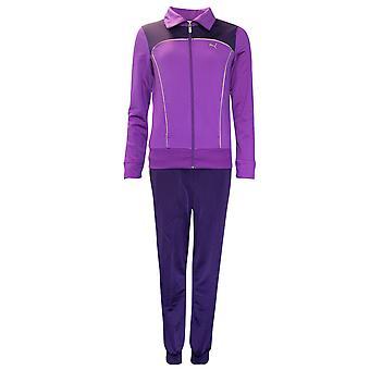 Puma Femei Trening complet Full Zip Jacket & Bottom Set Purple 825823 06 P4D