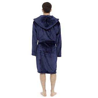 Foxbury Pánské roucho s kapucí Shimmer Fleece