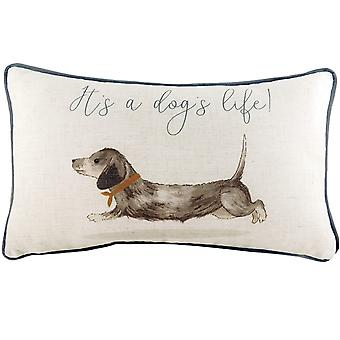 Evans Lichfield Oakwood Dog Cushion Cover
