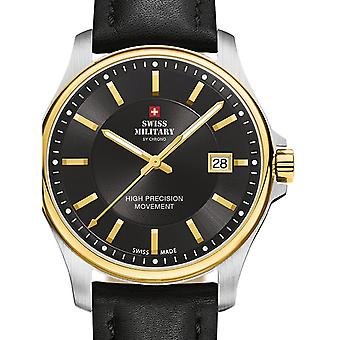Reloj masculino militar suizo por Chrono SM30200.13, cuarzo, 39 mm, 5ATM