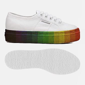 2790 Cot w multicolour glitter white multicolour