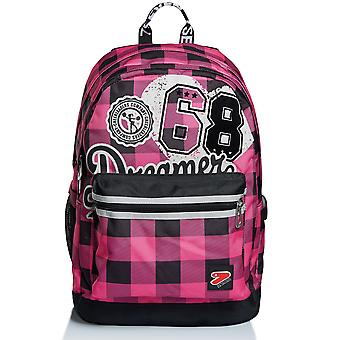 The Double PRO XXL Backpack - Fuxia