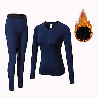 Winter Thermal Underwear Women Quick Dry