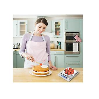 Gram Scale Digital Kitchen Scale Mini Pocket Lcd Display Piattaforma in acciaio inossidabile