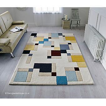 Abstrakti korttelin matto