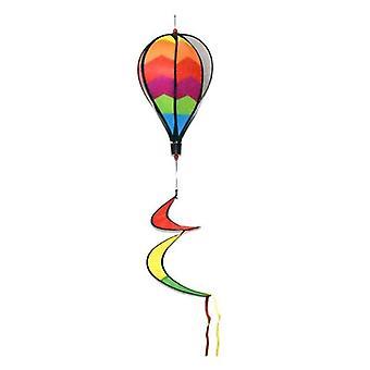 Kültéri lógó szivárvány színű hőlégballon