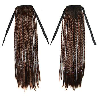 Manual Mici Braids Horsetail Bohemian Style Wig