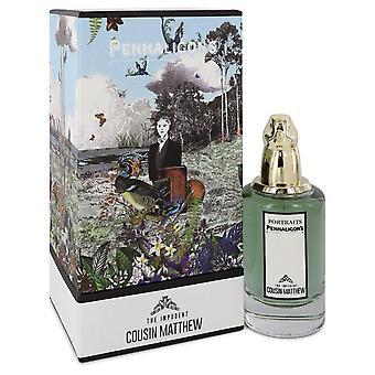 The Impudent Cousin Matthew Eau De Parfum Spray By Penhaligon's 2.5 oz Eau De Parfum Spray