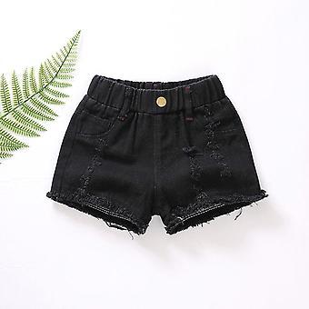 Zomer Slanke Hot Pants, Casual Broek, Hole Shorts &
