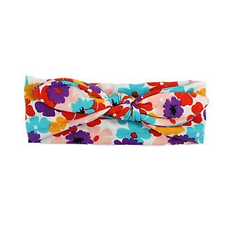 Baby Women Headband Cross Top Knot Elastic Hair Bands Soft Solid Accessories