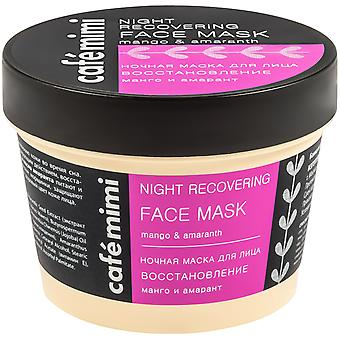 Cafe Mimi Night Recovery Face Mask 110 ml