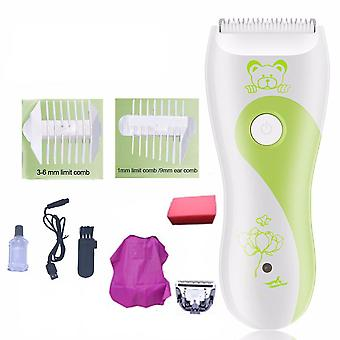Baby Electric Clipper Set Usb Rechargeable For Toddlers Hair Used For Daily