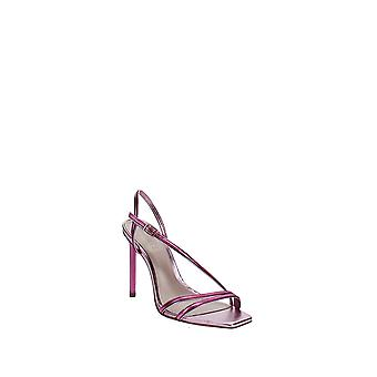 Schutz   Luna High-Heel Metallic Strappy Sandals