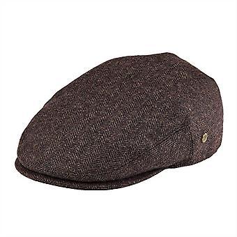 Flat Caps 50% Wool Tweed Scally Hat