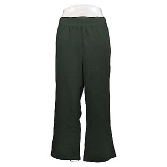 Denim & Co. Women's Pants Pull On Cropped Green A383267