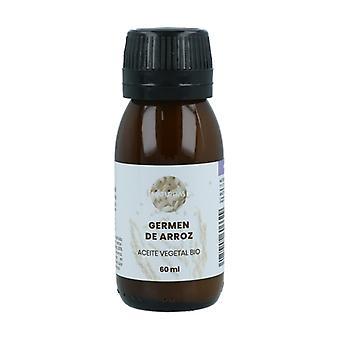 Organic Rice Germ Vegetable Oil 60 ml of oil