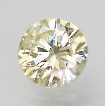 Sertifioitu 0,60 karat K VS2 pyöreä loistava parannettu luonnollinen löysä timantti 5,45mm