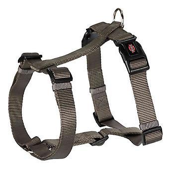 Trixie Harness Premium-grau-braun (Hunde , Für den Spaziergang , Geschirr)