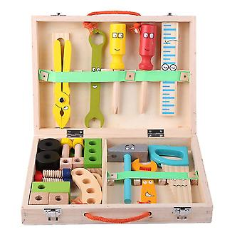 Simulation Repair Toolbox, Cartoon Disassembly Drill Screwdriver, Child