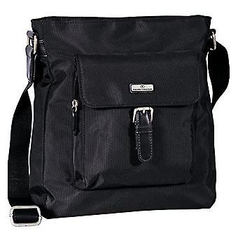 Tom Tailor Acc - Women's crossbody bag, 26 x 28 x 8 cm, Black (Black (black 60).), 26x28x8 cm (B x H x T)